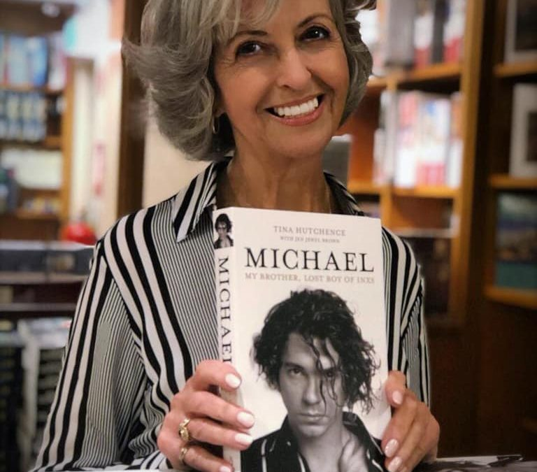 "Tina Hutchence Book Signing; ""MICHAEL, My Brother, Lost Boy of INXS"" at The New Hope Winery"