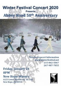WinterFestival 2020-Come Together/Abbey Road Live at The New Hope Winery @ The New Hope Winery   New Hope   Pennsylvania   United States