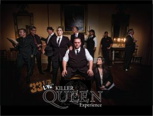 33 1/3 LIVE'S KILLER QUEEN EXPERIENCE @ New Hope Winery   New Hope   Pennsylvania   United States